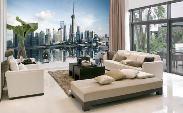 Fotomurais Shanghai