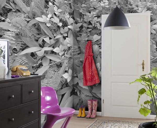 Fotomurais_decorativos_plantas_branco_e_preto