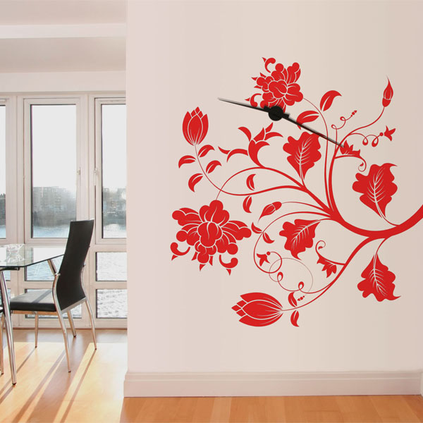 Vinil Decorativo Floral FL047