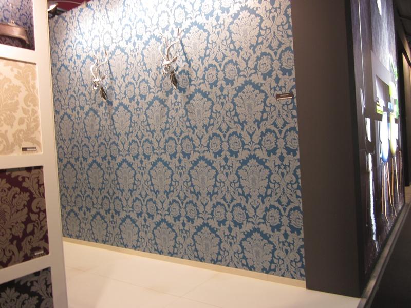 Papel de parede e decora o em heimtextil 2013 papel de - Papel pintado para azulejos ...
