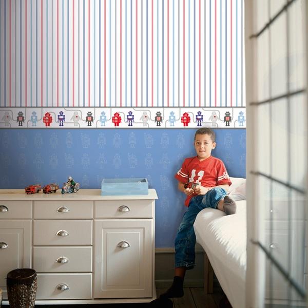 Papel de parede quarto menino