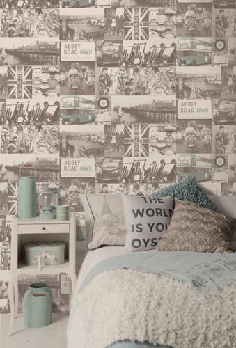 Papel de parede decorativo Emporium 97741