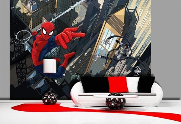 FTD-2213 Spider against Villains