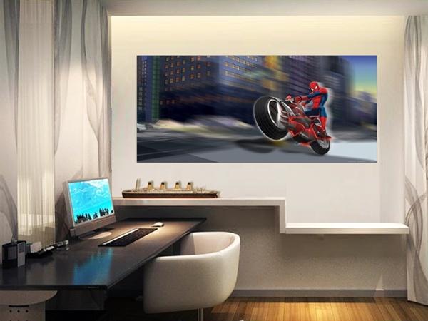 FTDH-0634 Spider Man On Bike