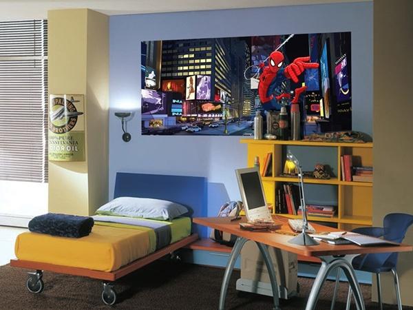 FTDH-0635 Spider Man On City