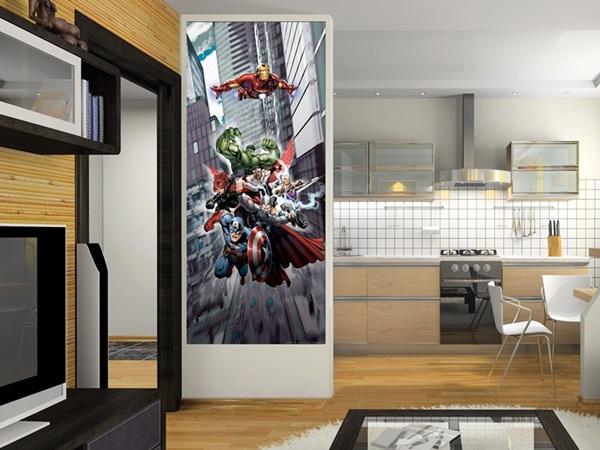 FTDV-1823 The Avengers Flying