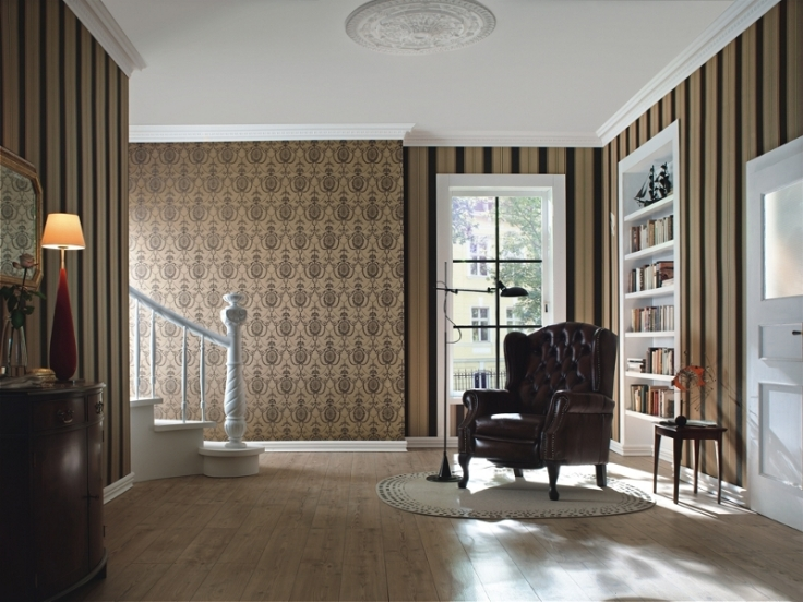 Papéis de parede clássicos TRIANON 513_080