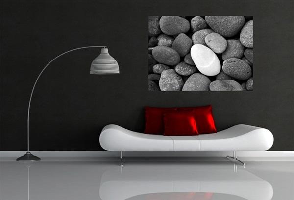 Mini Fotomural Beach Stones FTM0824