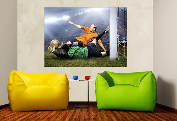 Mini Fotomural Football FTM0808