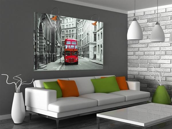 Mini Fotomural London Bus FTM0814