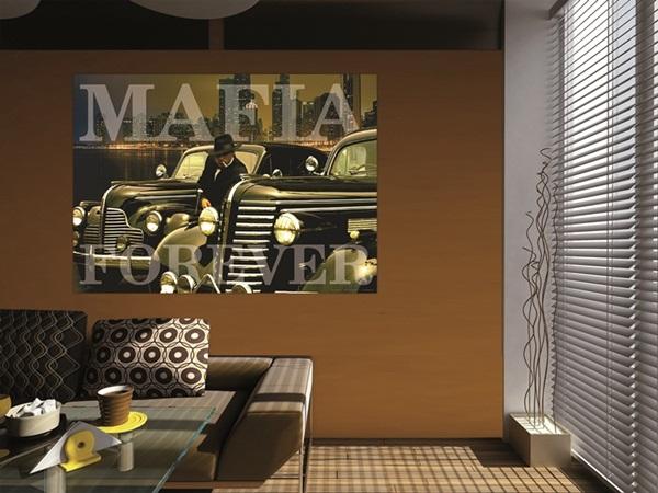 Mini Fotomural Mafia FTM0815