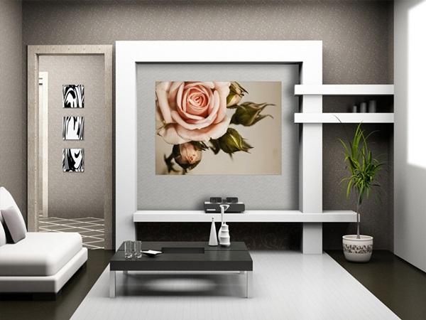 Mini Fotomural Pink Rose FTM0820