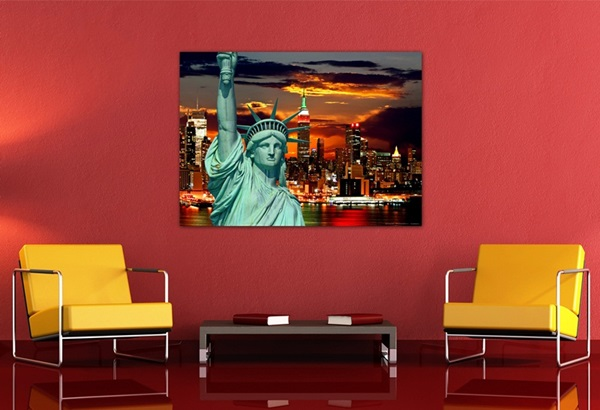Mini Fotomural Sunset Liberty FTM0812