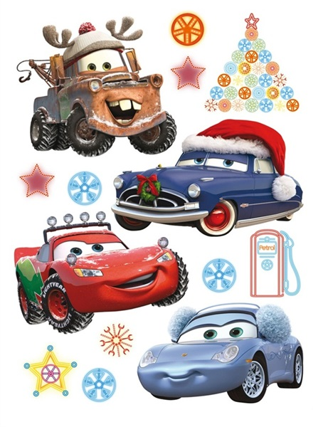 Sticker Disney Cars New Year DK_889