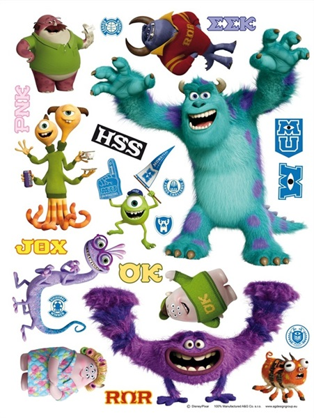 Sticker Disney Monsters DK_1709