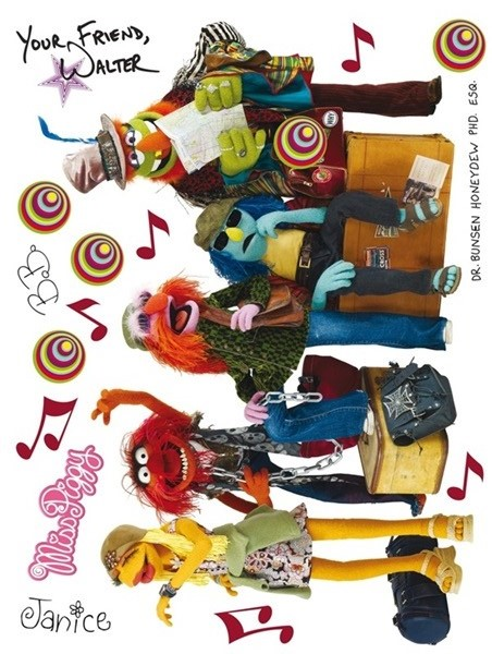 Sticker Disney Muppets DK_1704