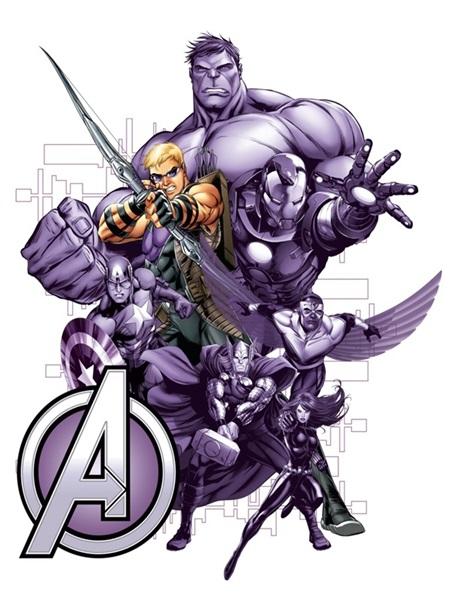 Sticker Marvel Hawkeye Avengers DK_1717