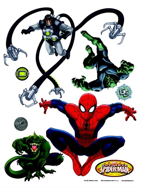 Sticker Marvel Spider against Villains DK_1712