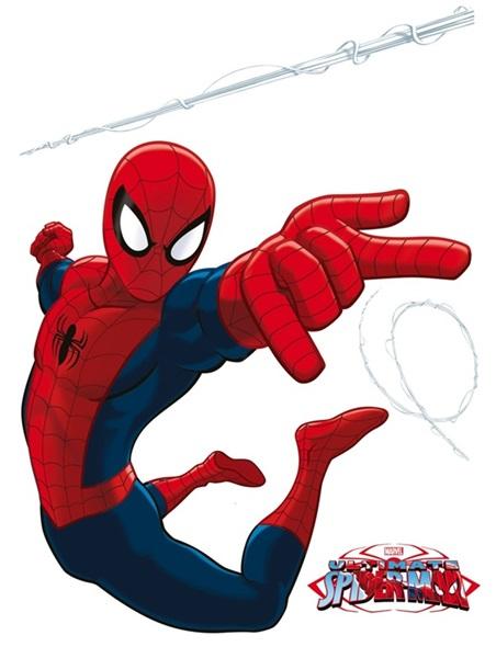 Sticker Marvel Spider Jumping DK_1710