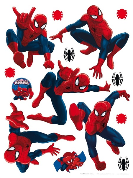 Sticker Marvel Spiderman DK_1713