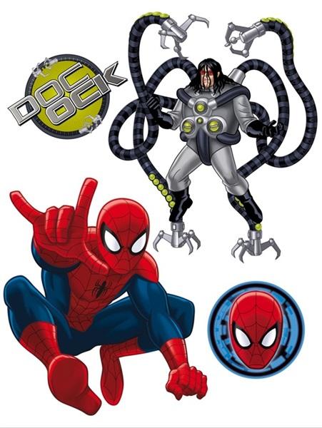 Sticker Marvel Spiderman & Dr. Octopus DK_1711