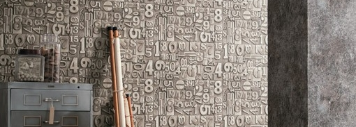 Papel de Parede Letras e Números