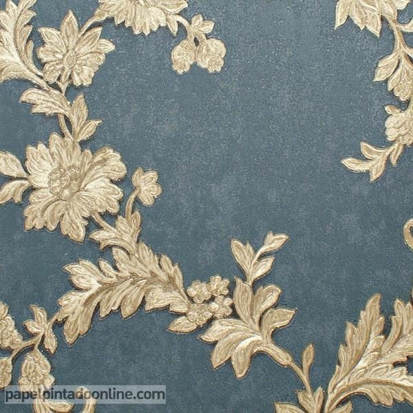 Papel de parede ornamental ref 3836 papel de parede online - Papel pared online ...