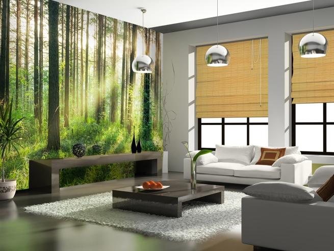 Interior 8-part Non-Woven Mural