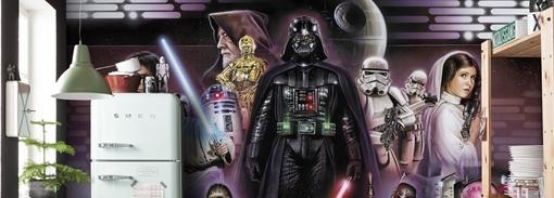 Murais Star Wars (Komar)
