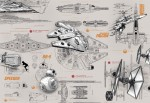 Mural Star Wars Ref - 8-493