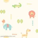 Papel Infantil Carousel Ref - DL21104