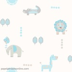 Papel Infantil Carousel Ref - DL21105