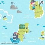 Papel Infantil Carousel Ref - DL21139