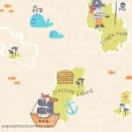 Papel Infantil Carousel Ref - DL21140
