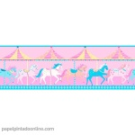 Papel Infantil Carousel Ref - DLB50080