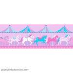 Papel Infantil Carousel Ref - DLB50081
