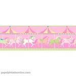 Papel Infantil Carousel Ref - DLB50082