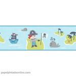 Papel Infantil Carousel Ref - DLB50088