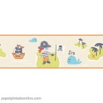 Papel Infantil Carousel Ref - DLB50089