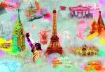Mural Ref 00121 Around the World