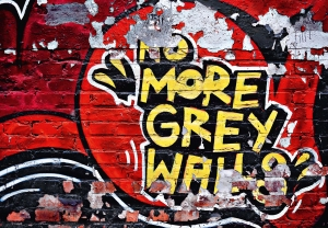 Mural Ref 00126 No More Grey Walls