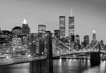 Mural Ref 00138 Manhattan Skyline at Night