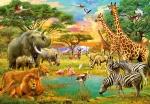 Mural Ref 00154 African Animals