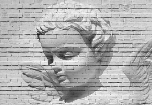 Mural Ref 00160 Angel Brick Wall