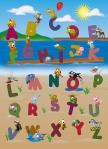 Mural Ref 00383 Animal Alphabet