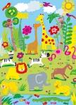 Mural Ref 00418 Animal Safari