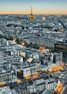 Mural Ref 00434 Paris Aerial View