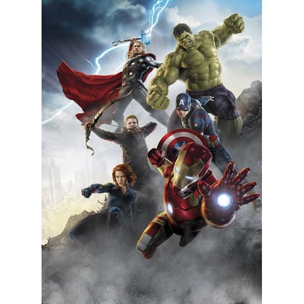 Mural Decorativo Avengers