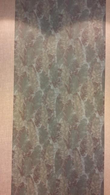 papel de parede com folhas de bananeira