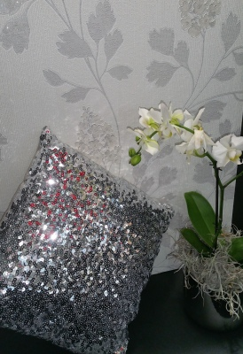 Papel de parede flores elegantes Heimtextil 2018